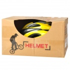 ACACIA Outdoor Bike Bicycle Riding Helmet - Yellow + Black