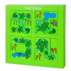 Xiao Guai Dan AY2015 Brain-Gebäude Hide and Seek Safari Maze Toy - Multi-Color