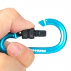 Acecamp Munkees Outdoor Sports Locking Carabiner Hook - Blue