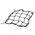 Motorcycle Elastic + Iron Mesh Helmet Cargo Net Luggage - Black