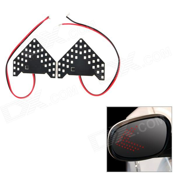 4.95W 264lm 640nm 33-SMD 1210 LED Red Light Car Side View Mirror Steering Lamps (2 PCS / 12V)