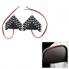 4.95W 264lm 640nm 33-SMD 1210 LED Red Light Car Side View Mirror Steering Lampen (2 PCS / 12V)