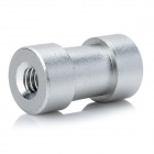 "1/4"" and 3/8"" Female Threaded Screw Adapter Spigot Stud - Silver"