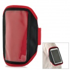 Outdoor Sports Arm Band for Samsung Galaxy Note 2 N7100 - Red