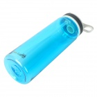 AceCamp 1555 Travel Sports Water Bottle - Transparent Blue (800ml)