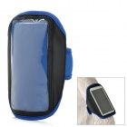 Outdoor Sports Arm Band für Samsung Galaxy Hinweis 2 N7100 - Blue