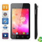 "A75 Android 4.0 WCDMA Smartphone w/ 5.0"" Capacitive Screen, Wi-Fi, GPS and Dual-SIM - Black"