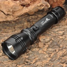 UltraFire C6 Cree XR-E Q5 265lm 5-Mode White Light Flashlight - Black (1 x 18650)