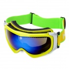Fashion PC Lens Eye Protection Skiing Glasses / Goggles - Yellow