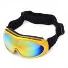 Fashion TPU Eye Protection Skiing Glasses / Goggles - Yellow