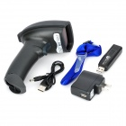 NT-8800 Dual-Direction Handheld Wireless Visible Laser Barcode Scanner - Black