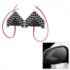 4.95W 5000lm 33-SMD 1210 LED White Light Car Side View Mirror Steering Lampen (2 PCS / 12V)