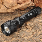 UltraFire C6-B 350lm 5-Mode Memory White Light Flashlight w/ Cree XR-E Q5 / Charger (1 x 18650)