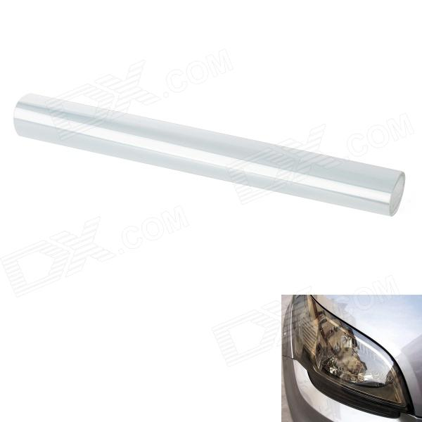 CM002 Decorative Car Headlight / Tail Light Tint Film - Transparent White