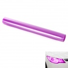 Decorative Car Headlight / Tail Light Tint Film - Purple