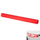 Decorative Car Headlight / Tail Light Tint Film - Red