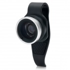 Clip-On Wide Angle Lens for Iphone 4 / 4S / 5 / Ipad 2 / The New Ipad - Black