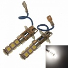 SENCART H3 6.5W 585lm 13-SMD 5060 LED Car White Light Fog Lamp Light (2 PCS / 12V)