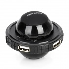 OImaster OI-CBH-1001 UFO Style Cooling Ball w/ 4-Port USB Hub - Black