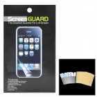 Protective Glossy Screen Protectors w/ Cleaning Cloths for Ipod Nano 7 - Transparent White (5 PCS)