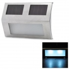 Solar Powered 2-LED White Lamp