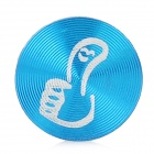 Thumb Up Style Aluminum Alloy Home Button Sticker for Iphone / Ipod / Ipad - Blue