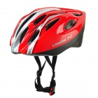 LIMAR 350 Outdoor Bike Bicycle Cycling Helmet - Red + Silver