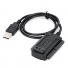 USB 2.0 to SATA / IDE Cable - Black