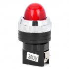 Red Light LED Instrument Indicator Lamp for Electric DIY - Red + Black (380V)