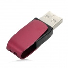 Patriot Cool Disk U-Disk USB 2.0 Flash Drive - Deep Pink + Black (16GB)