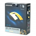 BOKAI OP-110 Wired 1600DPI Blue Laser Mouse w/ USB Cable - Yellow + Black