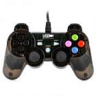 USB Kabel Vibration Game Controller - Translucent Black (180cm-Kabel)
