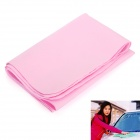 PVA Chamois Car/House Cleaning Towel Cloth - Pink (Size S)