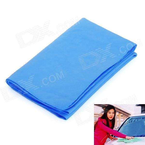 PVA Chamois Car/House Cleaning Towel Cloth - Blue (Size S)