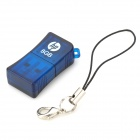 HP V165W U-Disk USB 2.0 Flash Drive - Blue (8GB)
