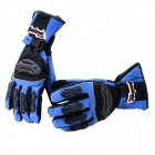 Tanked TVC-22 Full-Fingers Motorcycle Racing Warming Handschuhe - Blue + Black (Pair / Größe XL)
