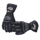 Tanked TVC-22 Full-Fingers Motorcycle Racing Warming Handschuhe - Black (Pair / Größe XL)