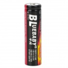 "BLUEBABY Rechargeable 3.7V ""3000mAh"" 18650 Li-ion Battery - Black"