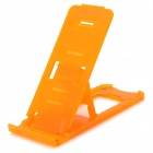 Portable Folding Plastic Holder Stand for iPhone Series - Orange