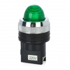 Green Light LED Instrument Indicator Lamp für Elektro-DIY - Green + Black (220V)