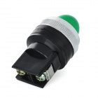 Green Light LED Instrument Indicator Lamp for Electric DIY - Green + Black (220V)