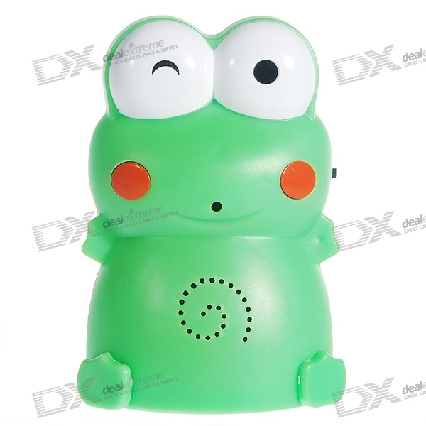 Digitally Recordable Motion Activated Visitor Welcoming Door Chime Frog