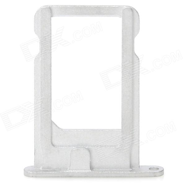 Replacement Aluminum Alloy Card Tray Holder for Iphone 5 - White сковорода блинная galaxy gl 9851