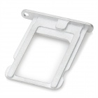 Replacement Aluminum Alloy Card Tray Holder for Iphone 5 - White