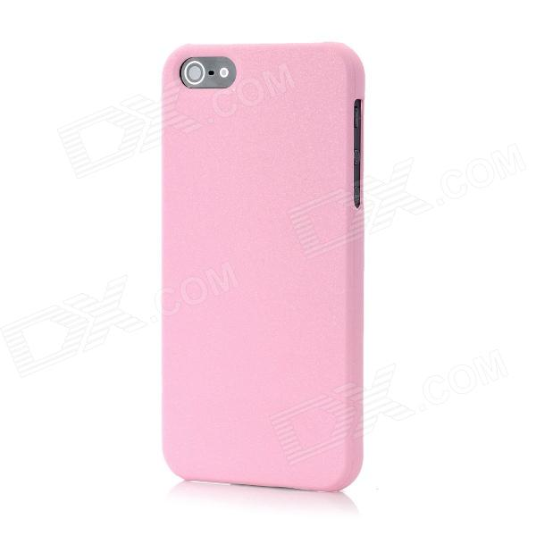 Novelty Color Changing Style Protective Plastic Back Cover Case for Iphone 5 - Pink