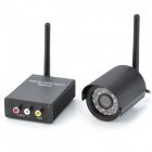 2.4GHz 100mW Wireless Receiver Kit w/ 24-LED Camera - Black