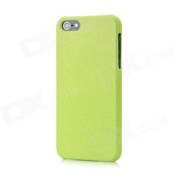 Novelty Color Changing Style Protective Plastic Back Cover Case for Iphone 5 - Green