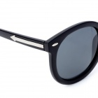 Fashion Outdoor Sports UV400 Protection Resin Lens Cellulose Acetate Frame Sunglasses - Black