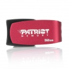 Patriot Cool Disk USB2.0 Flash Drive - Medium Violet Red (32GB)