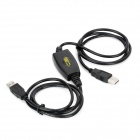USB 2.0 PC to PC Super Speed Data Link Cable - Black
